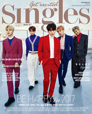 VOGUE MAGAZINE 2017 JAN JANUARY EXO SE HUN SEHUN CLIPPINGS PAGE NEW