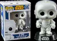 Bobble Head Star Wars K-3PO Funko Pop Vinyl Figure