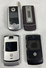 Lot of 4 Motorola Cellphones - Parts Or Repair - Cell Flip Phones - Clean Imei