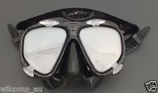 Scuba Dive Mask with Bifocal Corrective Lenses +1.5 Gauge Reader Wil-Dm-51(+1.5)