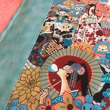 'Oriental Girl' - Minky Baby Blanket - By Sascha & Charlie - Buy Now!