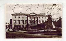 Mint Real Picture Postcard Ireland Dublin Leinster House RPPC