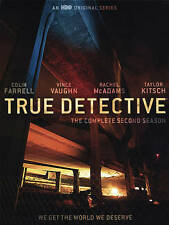 True Detective: The Complete Second Season Two 2 (DVD, 2016) New & Sealed!!!