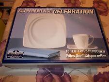 Kaffeeservice Celebration Edles Qualitätsporzellan 18teilig für 6 Personen +NEU+