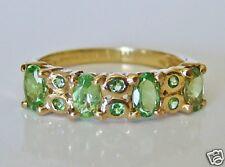 Beautiful 9ct Gold Peridot Ring Size N