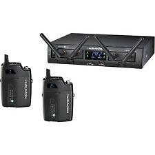 Audio-Technica ATW-1311 System 10 PRO Rack-Mount Digital Dual UniPak Transmitter