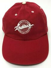f569937014f5c4 Vtg Indiana University Hoosier Baseball Cap Headwear by The Game Red  Adjustable
