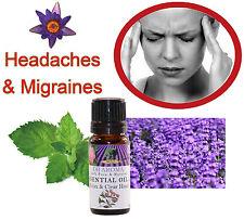 Stop Migraine Headache Aromatherapy Essential Oils natural remedy
