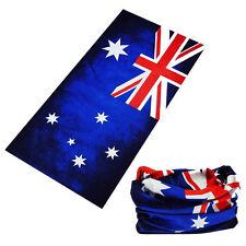 Australian Flag Bandana Face Shield Headwear Neck Scarf Fishing