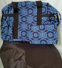 Avon Tiny Tillia DIAPER BAG NEW changing pad blue brown Floral Paisley New