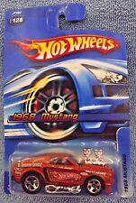 2006 Hot Wheels #128 - 1968 Mustang Rootbeer/Brown Color Variation 5 spoke VHTF