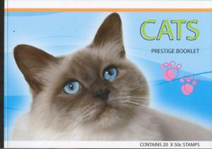 AU - CATS - PRESTIGE STAMP BOOKLET