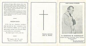 Lotto n. 6 Santini Venerabile Giustino M. Russolillo Servo di Dio (3559-3564)