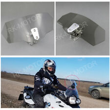 Light Gray Clip On Windshield High Windscreen Spoiler For BMW R1150GS Adventure