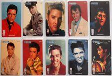 art.464-10telephons cards-ELVIS PRESLEY-CNC Telecom-Complete series-news-perfect