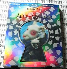 Alice in Wonderland Collectors Blu-Ray w/ Art Cards & 2 Slipcovers ~ Best Buy