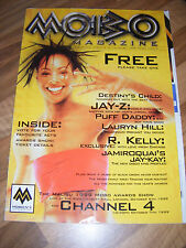 VERY RARE-Malibu Mobo Awards Oct.6th 1999 Official Magazine