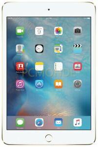 Boxed Apple iPad mini 4 64GB Wi-Fi + Cellular - Unlocked - Gold (MK8C2LL/A)