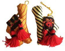 Jordanian Camel Christmas Ornaments Set of 2 Handmade Fair Trade Crossroads Eco