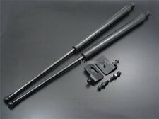 Fit Nissan Silvia S13 180SX 89-98 PS13 Bonnet Hood Black Carbon Gas Strut Damper
