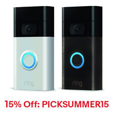 Ring Motion-Activated HD Video Doorbell 2nd Generation
