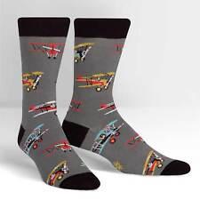 Sky Captain Crew Socks New Men's Size 9-13 Sock It To Me Flying Machine Fashion