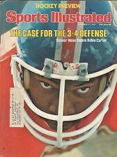 DENVER BRONCOS RUBIN CARTER 1977 SPORTS ILLUSTRATED SUPER BOWL MIAMI HURRICANES