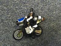 Power Rangers Zeo Jet Cycle Gold Ranger Black Motorcycle Vehicle 1996 Bandai