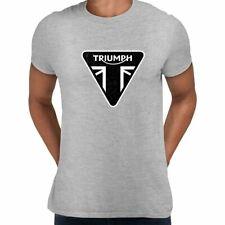 TRIUMPH Motorcycle Bike Engine Electric Union Jack Car Bonneville T-shirt Male