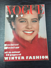 VOGUE Magazine November 1982