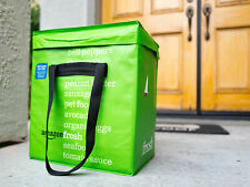 Amazon Fresh Reusable Folding Tote Delivery Bag Collectible w/ Insulation Foam