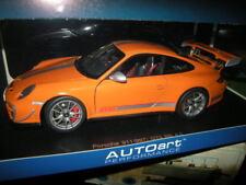 1:18 Autoart Porsche 911 type 997 gt3 RS 4.0 orange Nº 78148 neuf dans sa boîte