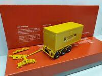 Leonhard WEISS 73037 Göppingen -Trailer + 20FT Container Bauwerks ... aus 310352