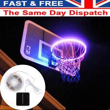 Hoop Light LED Lit Basketball Rim Attachment Strip Light At Night Induction Lamp