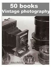Classic vintage camera photography 50 books collection dvd rom ebooks FREE P&P