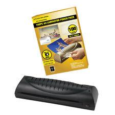 TeXet Casa Oficina Personales A4 Hot Plastificador Laminadora máquina + 100 X Bolsas De