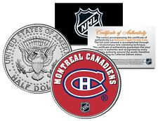 MONTREAL CANADIENS NHL Hockey JFK Half Dollar U.S. Coin - OFFICIALLY LICENSED