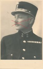 Nr.20992 Porträt Foto PK Österreich 1,Republik Offizier 1935 Hallein Widmung