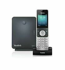 Yealink W60P 8 Lines Cordless DECT IP 2.4in Phone and Base Station