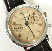 GIRARD PERREGAUX SWISS VINTAGE CHRONOGRAPH MECHANICAL MANUAL WATCH