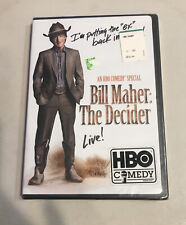 Bill Maher: The Decider. Brand New, Sealed.