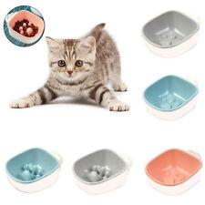 KF_ Pet Dog Cats Anti Choke Footprint Hanging Feeding Food Water Bowl Feeder D