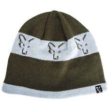 Angelsport Fox Chunk Marl Beanie Mütze Grau/Schwarz Wintermütze