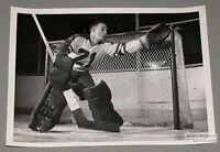 1956-57 Montreal Royals Charlie Hodge Hockey Photo