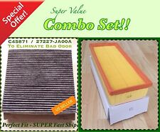 Engine & Carbonized Cabin Air Filter for Nissan Altima 07-12 2.5L Only US Seller