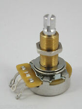 Long Shaft CTS A500K Audio Log Potentiometer Pot for Gibson Les Paul Guitar