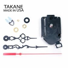 Made in USA Takane Pendulum Clock Movements with Hands, Multiple Size - NEW!