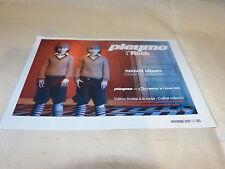 PLEYMO - Petite publicité de magazine / Advert !!! ROCK !!!