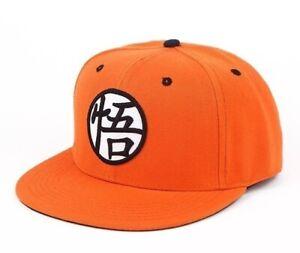 Hat Dragon Ball Z Goku Logo Orange Adult Cap Hat