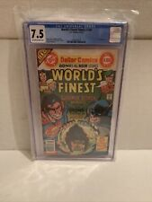 World's Finest Comics #244 CGC 7.5 DC 4/77🔥🔥